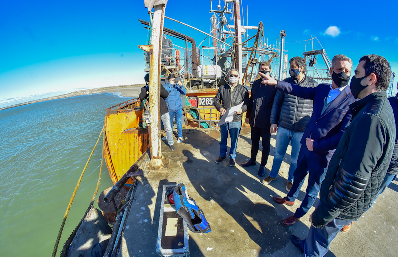 Llaman a licitación para ampliar 50 metros más el Muelle de Puerto Rawson