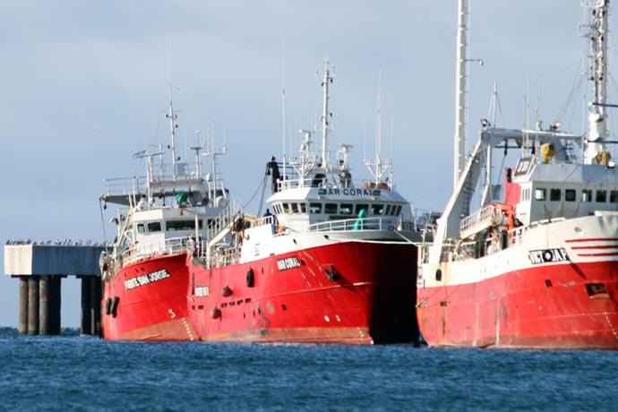 Por control epidemiológico, cerraron el puerto de Madryn por 24 horas