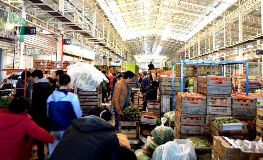 Este lunes pese al feriado, abre el Mercado Concentrador Chubut