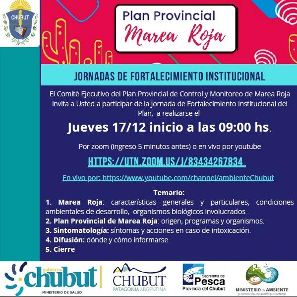 """Culminan las """"Jornadas Provinciales de Fortalecimiento"""" del Plan de Marea Roja"""