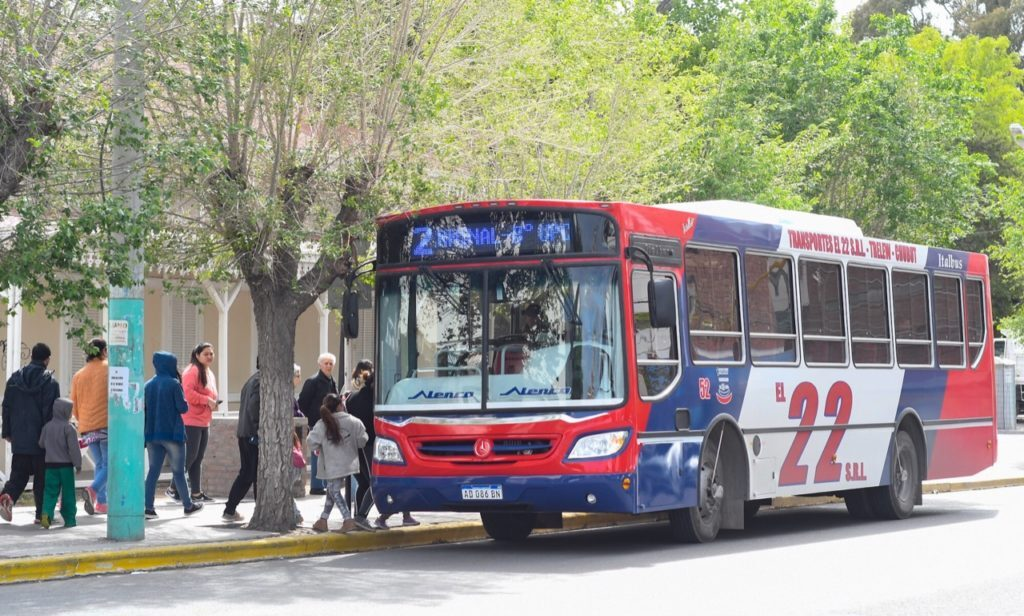 Trelew: Mañana miércoles retomarían el servicio los colectivos urbanos