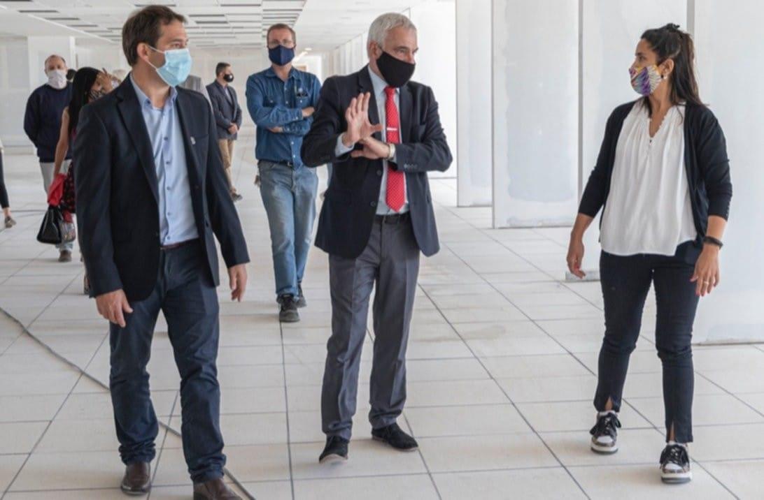"""Ciudad Judicial: """"Esperamos  terminar la primera fase de la obra para fines de marzo"""", afirmó Vivas"""