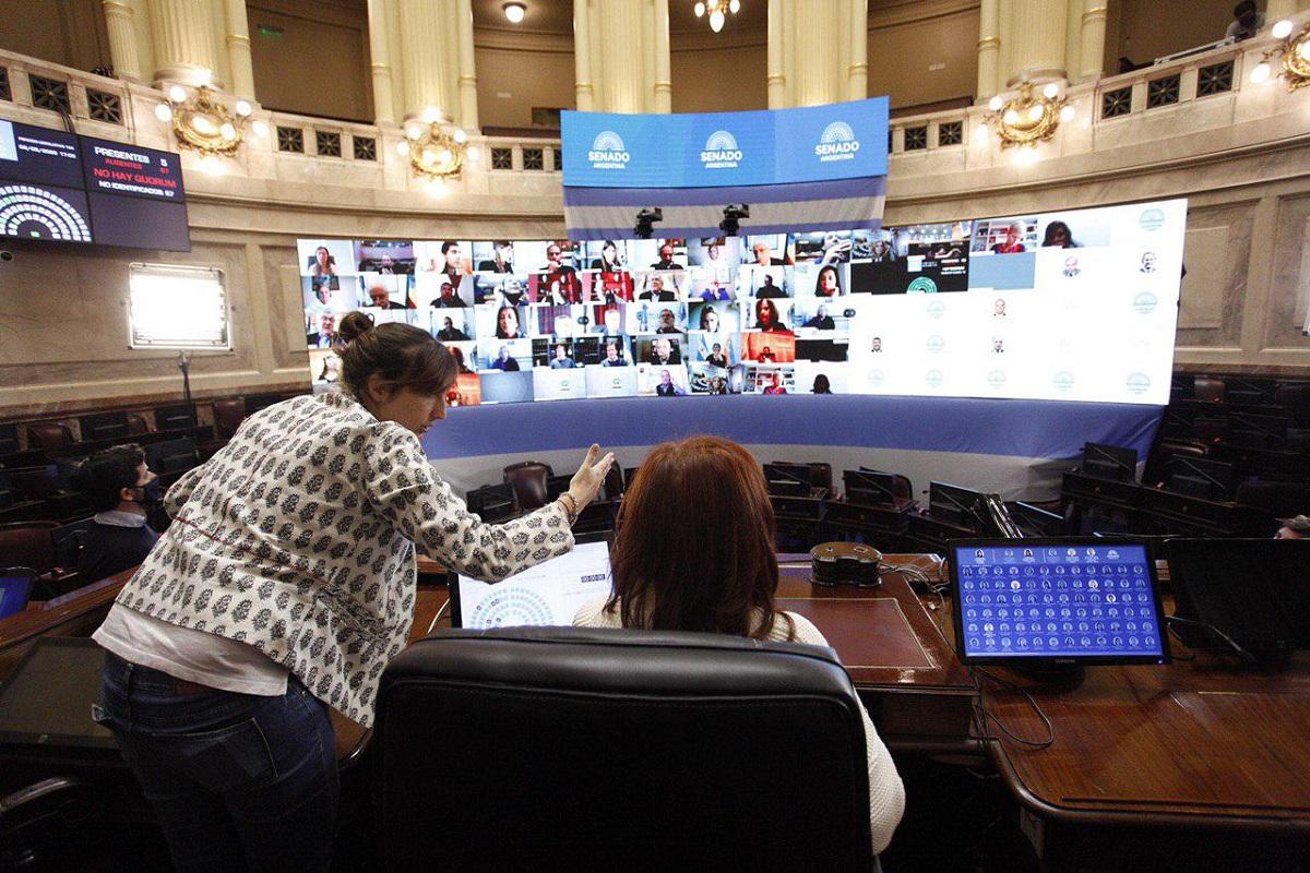 El Senado sesiona para debatir Aporte Solidario y cambios a la Ley del Manejo del Fuego