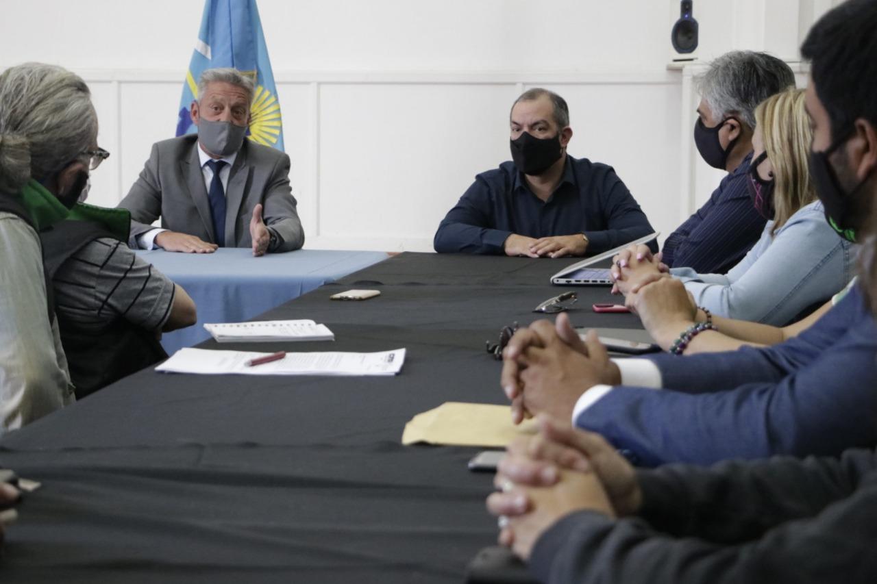 El Gobernador Arcioni recibió en Casa de Gobierno a la conducción de ATE