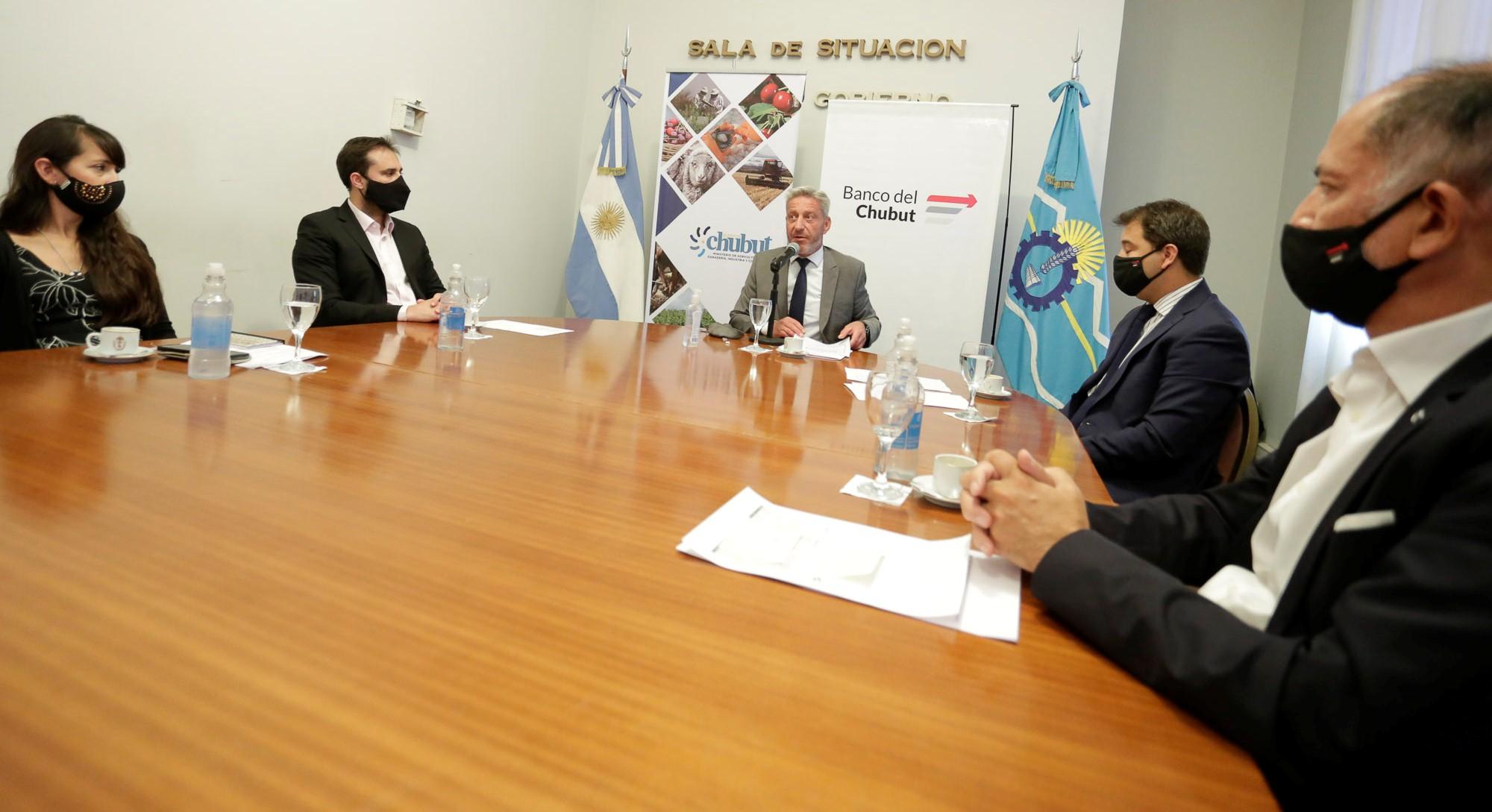 El Gobierno del Chubut busca reactivar la inversión con línea de financiamiento para PyMes
