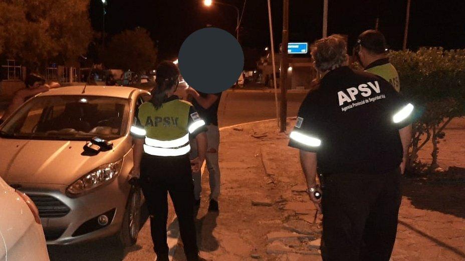 Playa Unión: 20 conductores fueron retirados de la vía pública por intoxicación