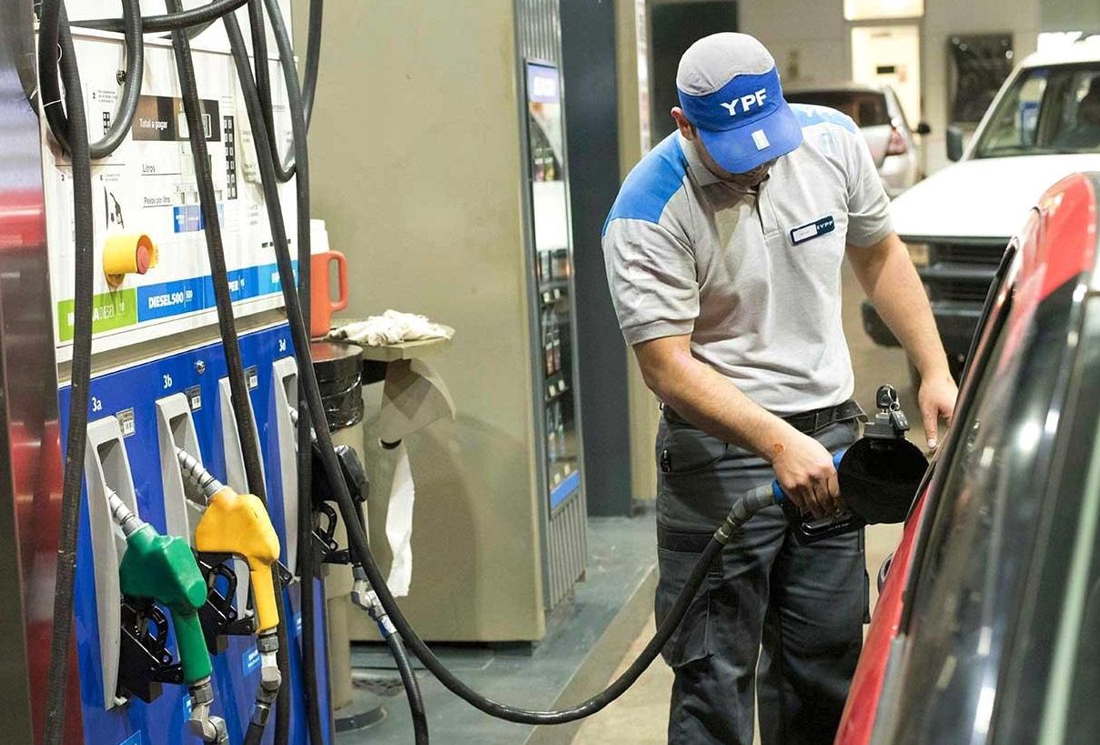 Otro aumento: YPF incrementó los combustibles un 3,5% desde este sábado
