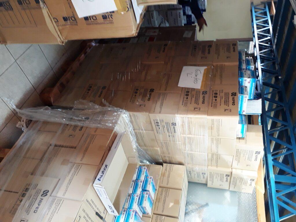 Chubut recibió más equipamiento para el personal de Salud y 5 mil test rápidos