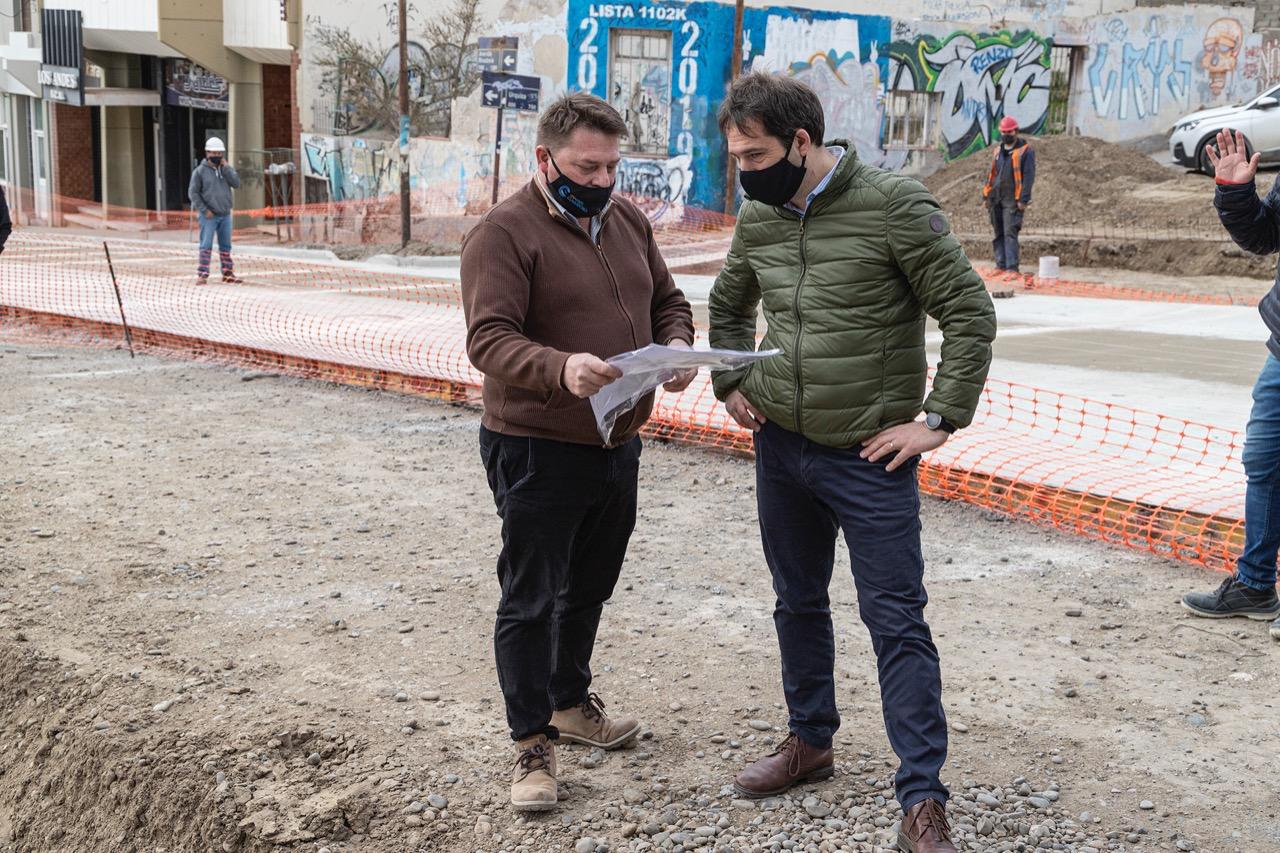 Las dos primeras obras nacionales de 2021 para Chubut, fueron para Comodoro y Trevelin