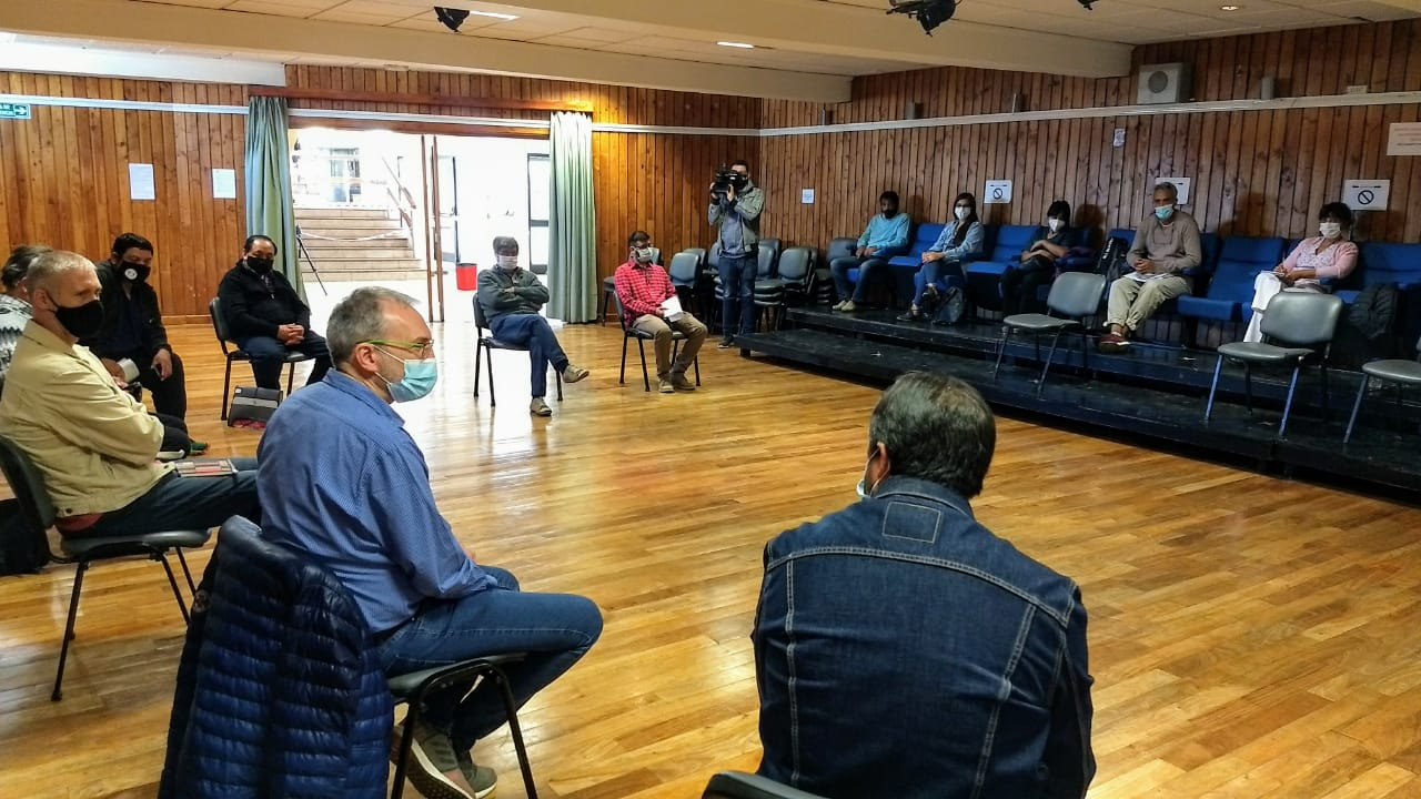 COVID-19: Puratich repasó la situación sanitaria con Directores de Hospitales Rurales