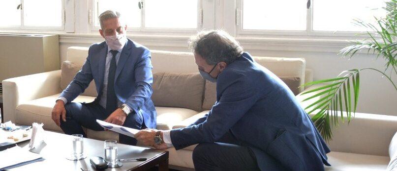 Arcioni firmó con el ENOHSA un convenio para la ampliación de la Planta Potabilizadora de Trelew