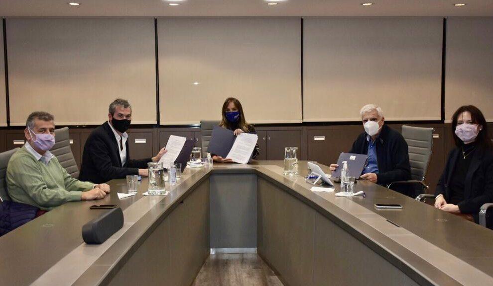 Chubut firmó acuerdo de cooperación con AySA y el Instituto Tecnológico Leopoldo Marechal