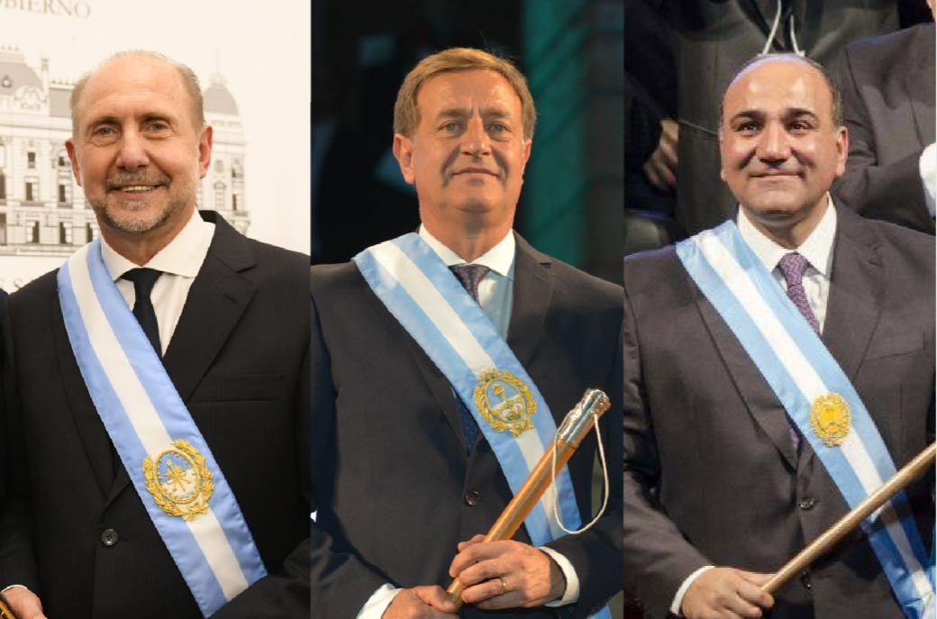 Tres gobernadores van como candidatos a senadores: Perotti, Suárez y Manzur
