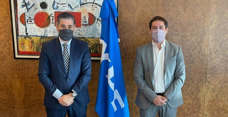 Luque se reunió con el presidente de YPF por el proyecto de Ley de Hidrocarburos