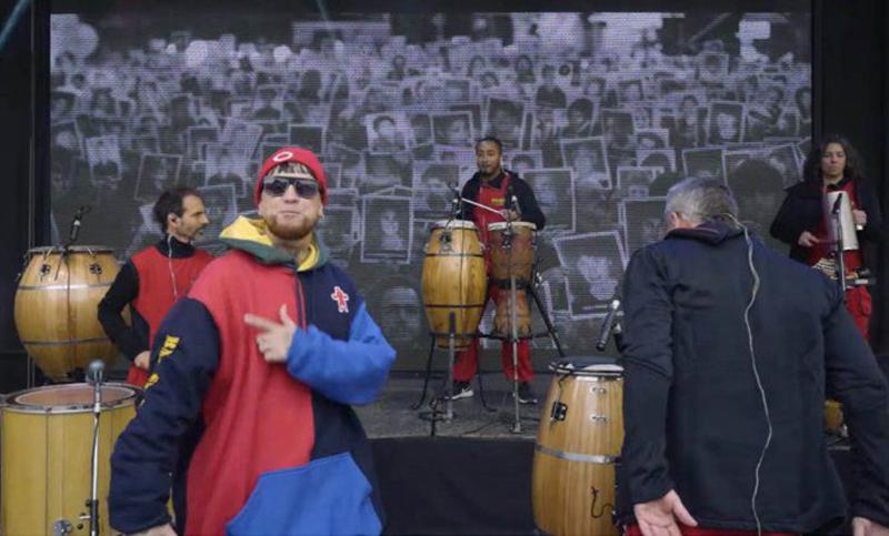 Atentado a la AMIA: La Bomba de Tiempo y el rapero XXL Irione, en homenaje a las víctimas