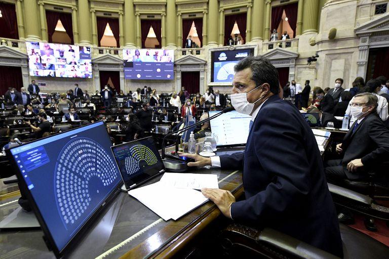 Agenda parlamentaria: Diputados tendrá una semana intensa, con sesión e informe de Cafiero