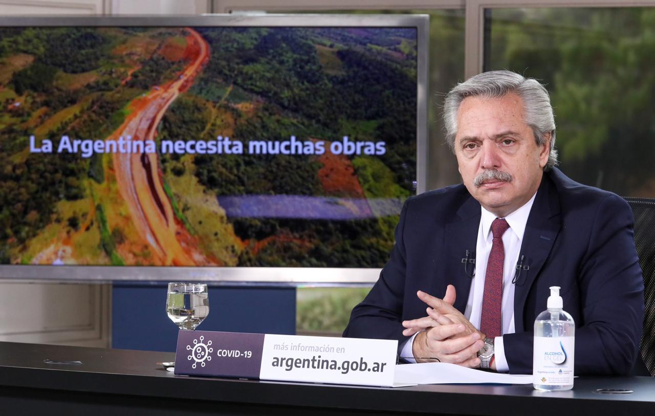 La obra pública en un año electoral: en los primeros seis meses, Nación gastó más que en todo 2020