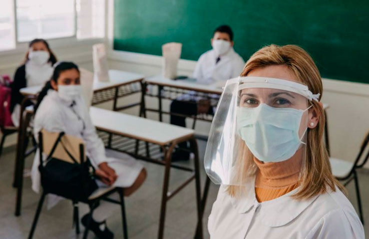 Clases seguras: solo 1,7% de los contagios de coronavirus se dieron en las aulas