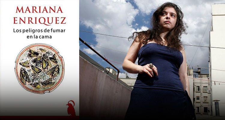 «Los peligros de fumar en la cama» de Mariana Enriquez, va por otro premio internacional
