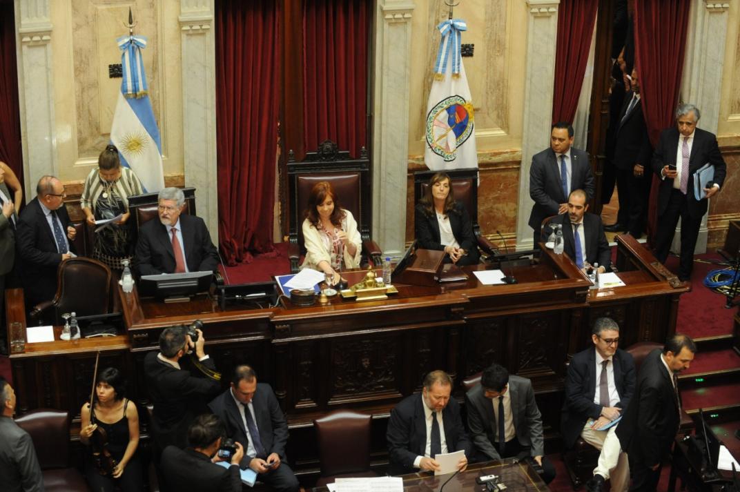Cristina dispuso el retorno a la presencialidad y el Senado sesionará el miércoles que viene