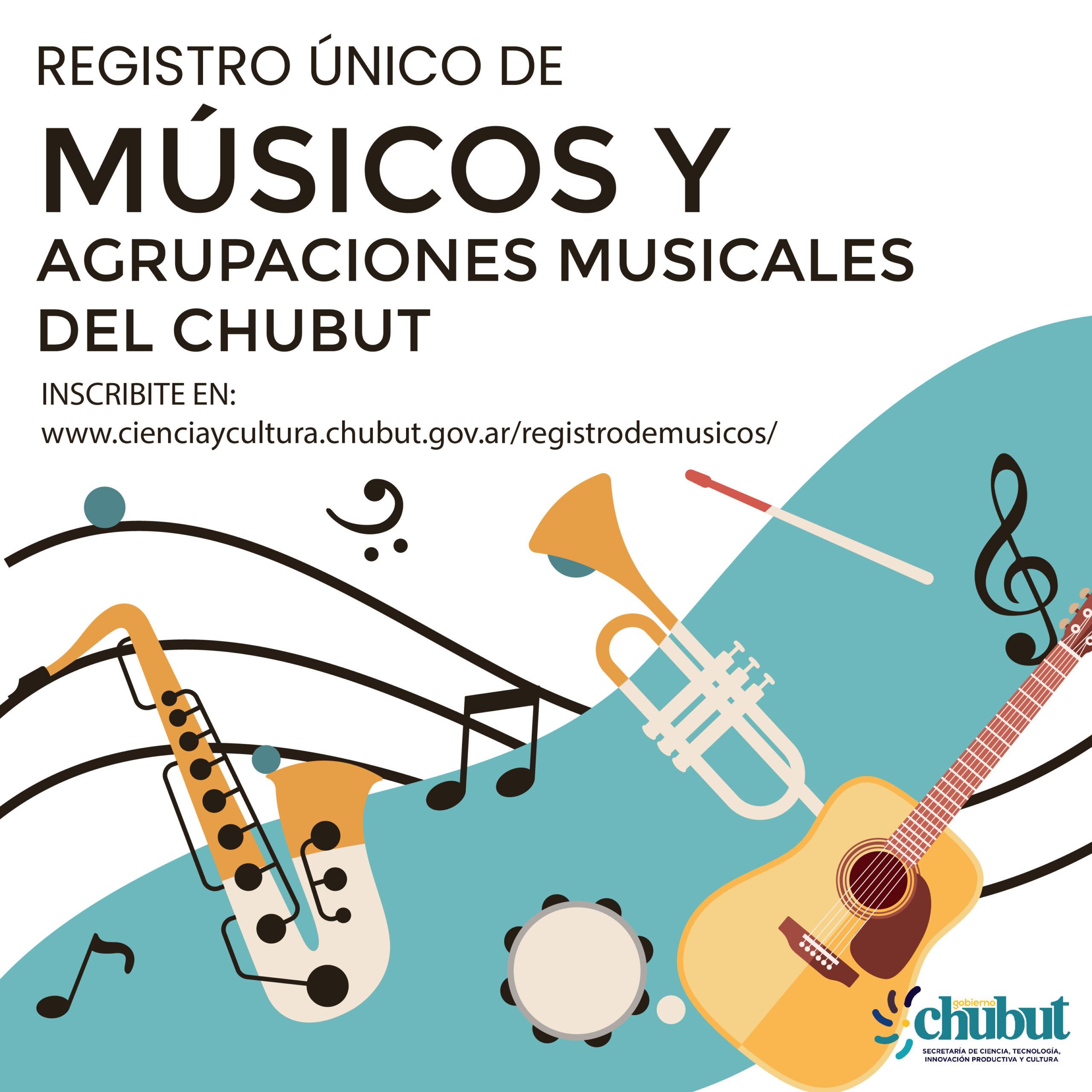 Chubut creará el Registro Único de músicos de la Provincia