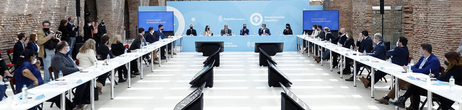 Chubut participó del Consejo Federal de Desarrollo Social con eje en la generación de empleo