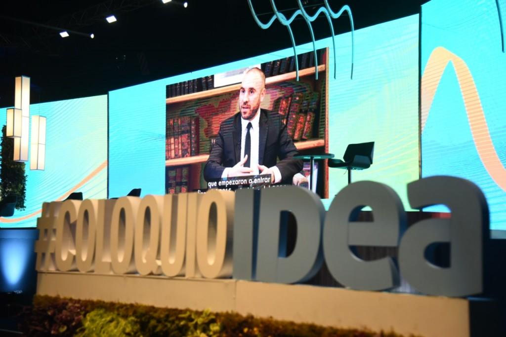 Guzmán en IDEA: «Tenemos claro que no vamos a hacer ningún salto devaluatorio»
