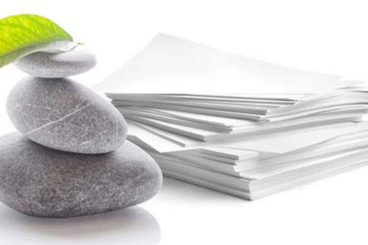 Tecnología: El papel mineral, un producto ecológico a base de roca y que no necesita de árboles ni agua