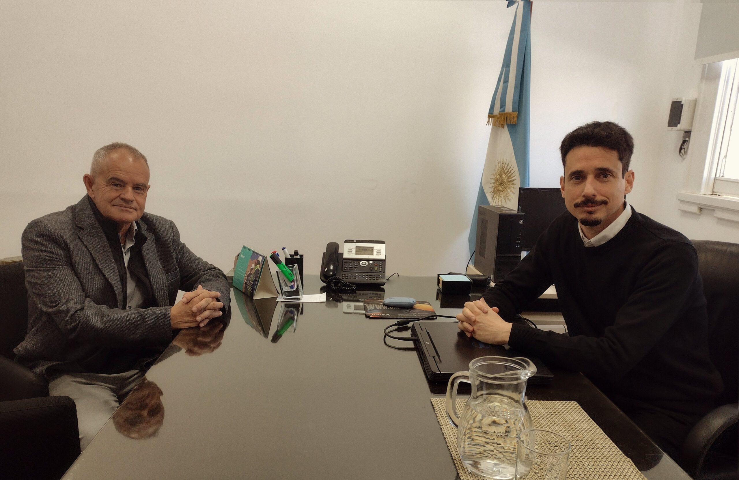 El presidente de la CAPEM se reunió con el subsecretario de Desarrollo Minero de la Nación